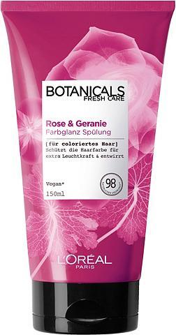 BOTANICALS Haarspülung »Rose ir Geranie« Farbglan...