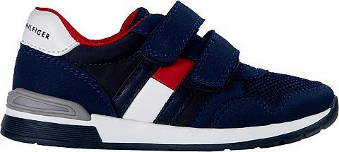 TOMMY HILFIGER »LOW CUT VELCRO« Sneaker su doppeltem ...