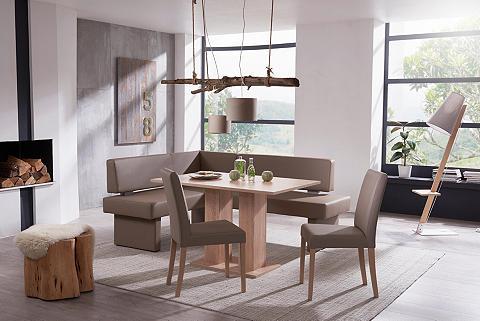 Kampinis virtuvės suolas su kėdėmis »F...