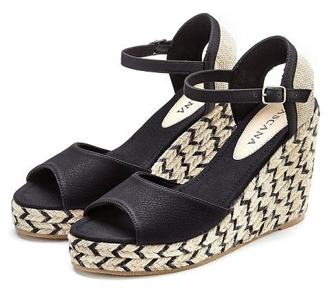 LASCANA High-Heel-Sandalette su Keilabsatz im ...