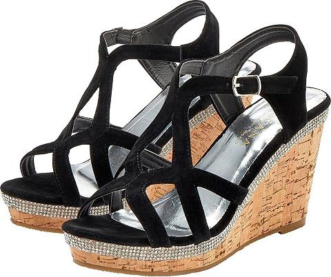 LASCANA High-Heel-Sandalette su Keilabsatz ir ...