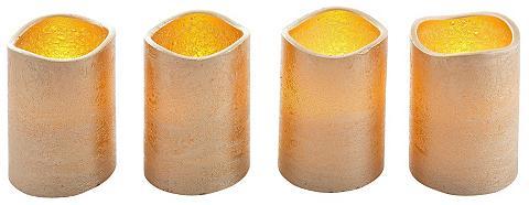 LED-Kerze (Set 4-tlg)