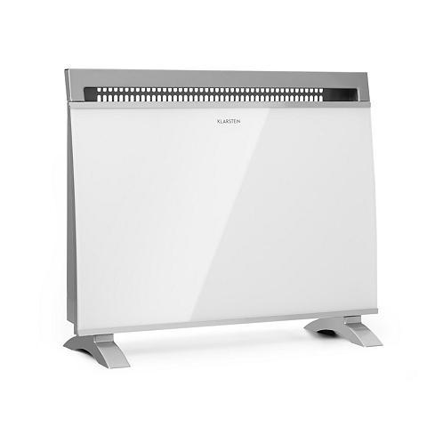 Klarstein Konvektorheizung 600/900/1500W Glasfro...
