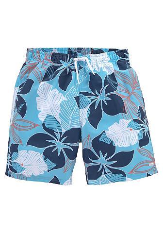 KangaROOS Badeshorts 1 Stück su Hawaiiprint