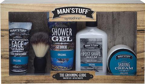 MAN'STUFF Geschenk-Set »The Grooming Guide« 5 vn...