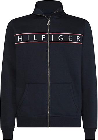 TOMMY HILFIGER Bliuzonas »HILFIGER LOGO ZIP THROUGH«