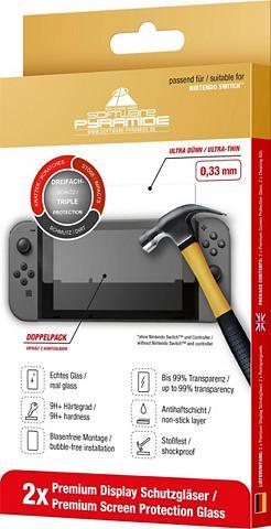 ak tronic »Nintendo Switch Schutzglas Doppelpack...