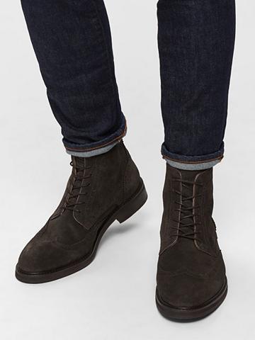 SELECTED HOMME Verstos odos Ilgaauliai batai