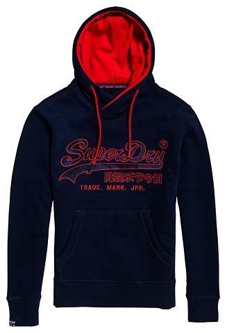 SUPERDRY Sportinis megztinis su gobtuvu »DOWNHI...