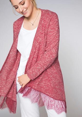 Sheego Ilgas megztinis su nėriniai