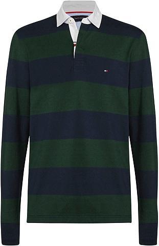 TOMMY HILFIGER Polo marškinėliai »ICONIC BLOCK dryžuo...