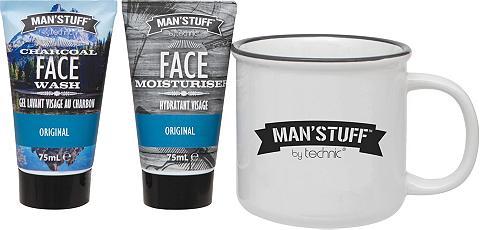 MAN'STUFF Gesichtreinigungs-Set »Man Mug« 3 vnt....