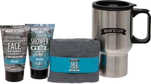 MAN'STUFF Hautreinigungs-Set »Travel Mug«