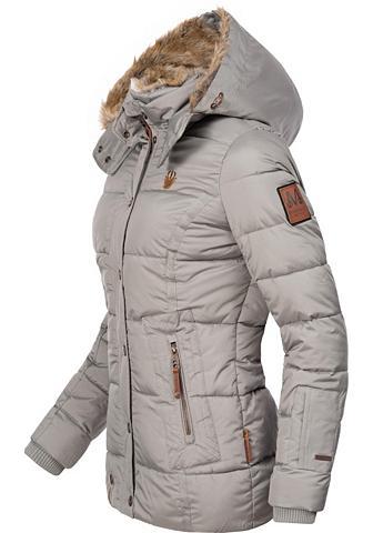 Marikoo Winterjacke »Nekoo« stylische Damen St...