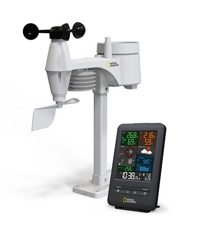 NATIONAL GEOGRAPHIC Wetterstation »Color-Display Funk Wett...