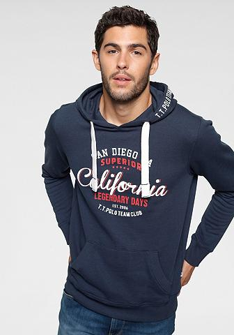 TOM TAILOR Polo Team Sportinio stiliaus megztinis su Print ...