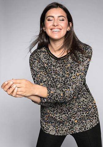 Sheego Marškinėliai ilgomis rankovėmis su Ani...
