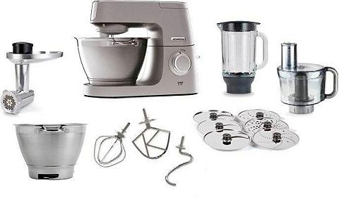 KENWOOD Küchenmaschine Chef Elite KVC5401S 120...