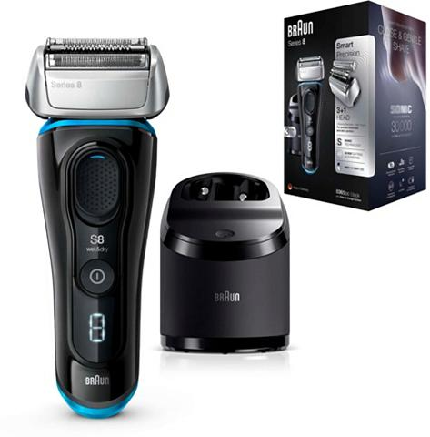 Braun Elektrorasierer Series 8 8365cc Clean&...