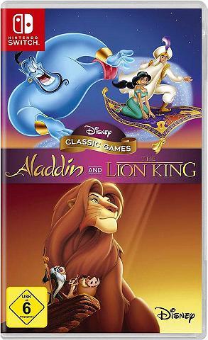 Disney Aladdin and The Lion King Nintendo Swi...