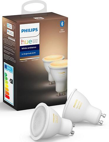 Philips Hue »White Ambiance Doppelpack 2x350lm« LE...