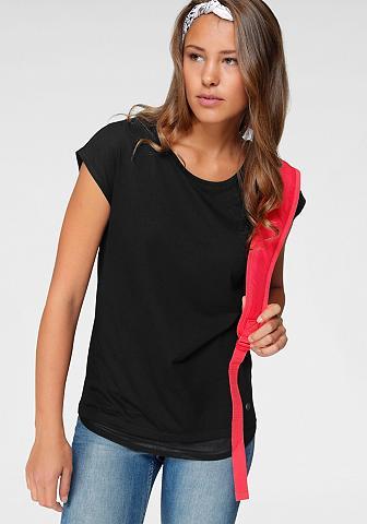 Ocean Sportswear Marškinėliai su Ringerrücken iš tinkle...