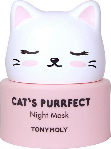 TONYMOLY Nachtcreme »Cat's Purrfect«