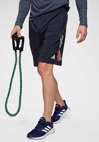 adidas Performance Funktionsshorts »4KRFT 3-STREIFEN 9-IN...