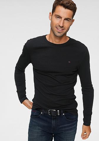 Tommy Jeans Tommy Džinsai marškinėliai ilgomis ran...