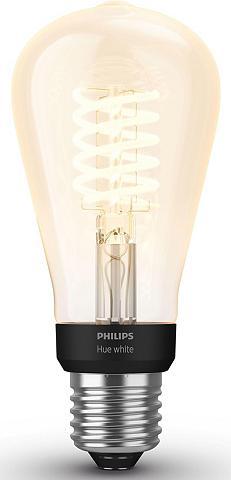 Philips Hue »White Ritė Einzelpack 1x550lm Edison ...