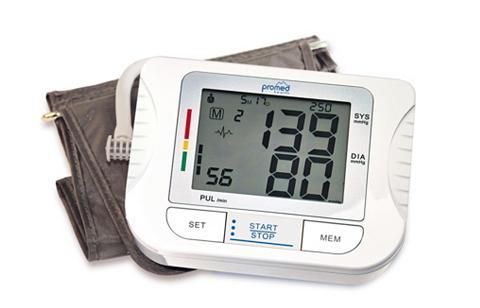 promed Oberarm-Blutdruckmessgerät PBM-3.5 Mit...