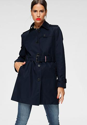 Tommy Hilfiger Langjacke »HERITAGE SINGLE BREASTED TR...
