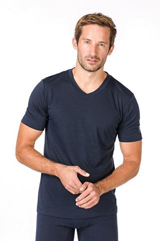 SUPER.NATURAL Marškinėliai »M BASE V-NECK TEE 140« g...