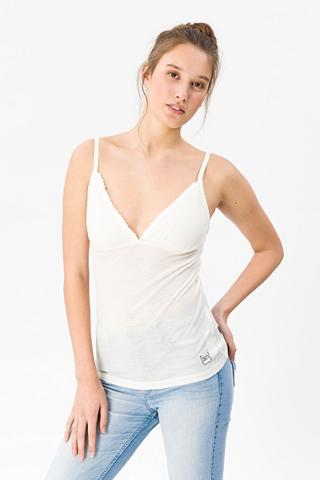 SUPER.NATURAL Apatiniai marškinėliai »W Vivien Rib M...