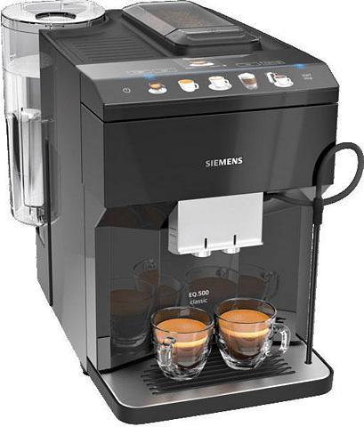SIEMENS Kaffeevollautomat EQ.500 classic TP503...