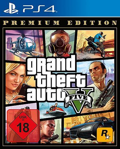 Rockstar Games GTA V - Grand Theft Auto V Premium Edi...