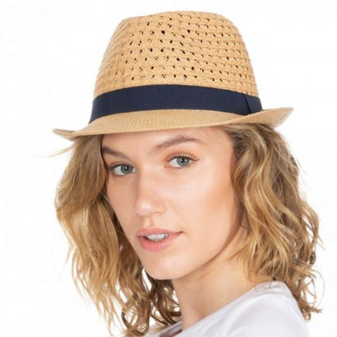 Trespass šiaudinė skrybėlė »Damen Trilby-«