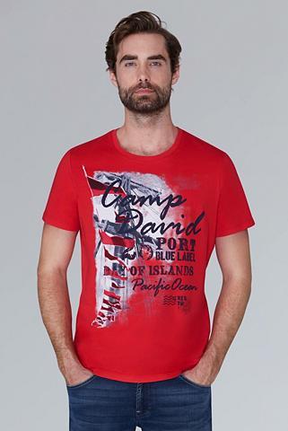 CAMP DAVID Marškinėliai su Print