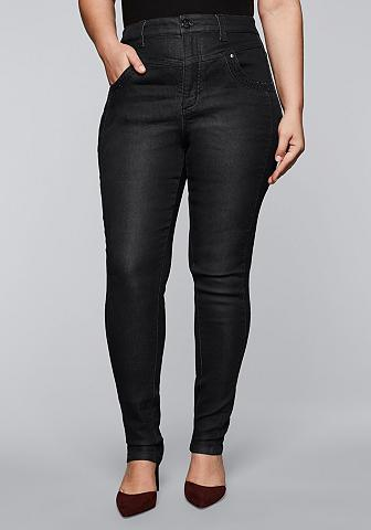 Sheego Stretch-Jeans in High-Waist-Form