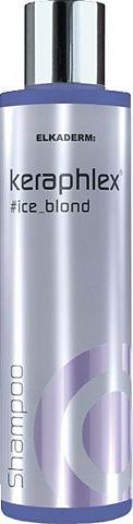 ELKADERM Haarshampoo »Keraphlex #ice_blond Sham...