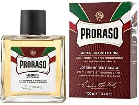 PRORASO After Shave Lotion »Red Nourish« Sande...