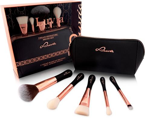 Luvia Cosmetics Kosmetikpinsel-Set »Vegan Signature« 6...