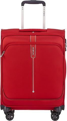 Samsonite Weichgepäck-Trolley »Popsoda 55 cm red...