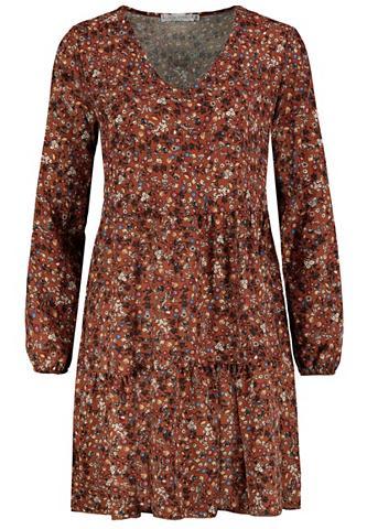 SUBLEVEL A-Linien-Kleid su Blumenprint