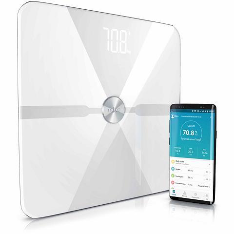 MyBeo Digitale Bluetooth Körperfettwaage »Di...