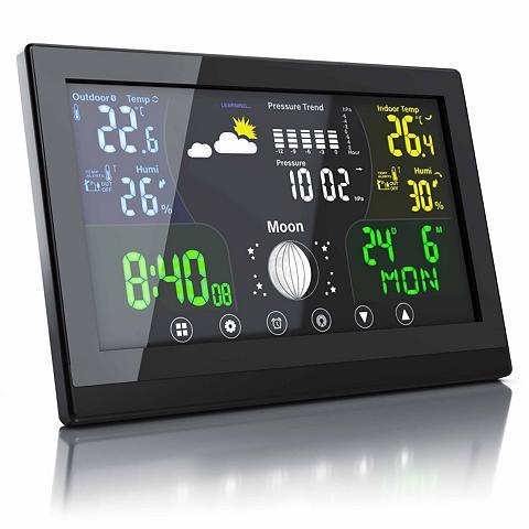 BEARWARE Wetterstation su Außensensor »LCD Farb...