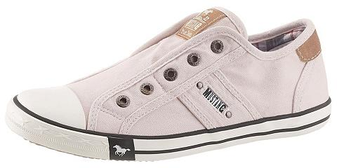 Mustang Shoes Slip-On Sneaker in vasariškas Farbpale...