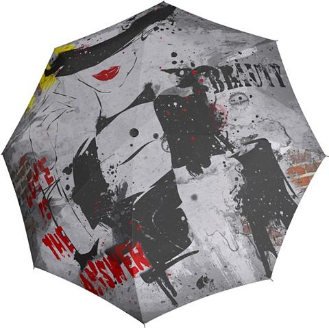 doppler ® Taschenregenschirm »Modern Art Magic...