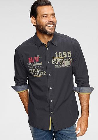 Man's World Marškiniai ilgomis rankovėmis mehrfarb...