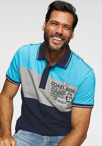 Man's World Polo marškinėliai Blockstreifen
